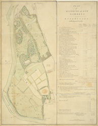Plan of Richmond and Kew Gardens